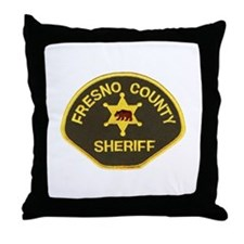 Fresno County Sheriff Throw Pillow