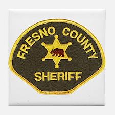 Fresno County Sheriff Tile Coaster