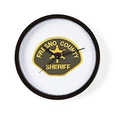 Fresno County Sheriff Wall Clock