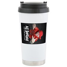 aj jordan large lanyard Travel Mug