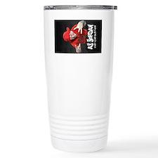 aj jordan large lanyard Travel Mug