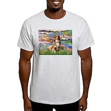 Lilies2-Aussie Shep (#4) T-Shirt