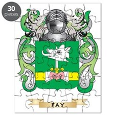 Fay Coat of Arms Puzzle