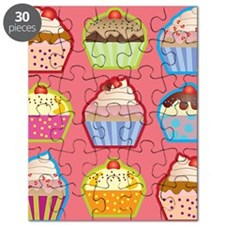 Cute Cupcakes Puzzle
