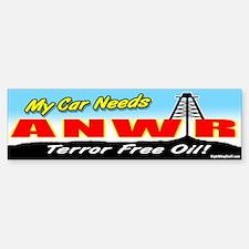 ANWR - Terror-Free Oil! Bumper Bumper Bumper Sticker