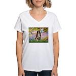 Garden-Aussie (#4) Women's V-Neck T-Shirt