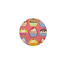 Cute Cupcakes Mini Button