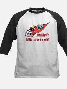Daddy's Little Space Cadet Kids Baseball Jersey