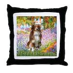 Garden-Aussie (#4) Throw Pillow