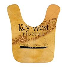 Key West Sailing Map Bib
