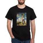 Umbrella-Aussie Shep Dark T-Shirt