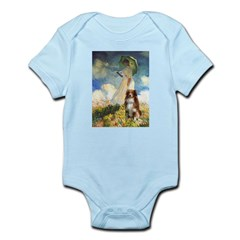 Umbrella-Aussie Shep Infant Bodysuit