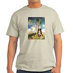 Umbrella-Aussie Shep Light T-Shirt