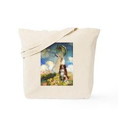 Umbrella-Aussie Shep Tote Bag