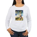 Umbrella-Aussie Shep Women's Long Sleeve T-Shirt