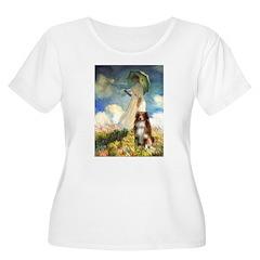 Umbrella-Aussie Shep T-Shirt