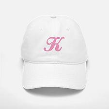 K Initial Baseball Baseball Cap
