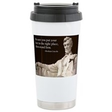 Lincoln Inspirational Q Travel Mug