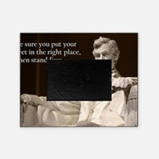 Lincoln Inspirational Quote Picture Frame