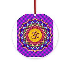 7th Chakra Ornament (Round)