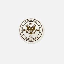 Flower City Chaplain Corps Logo, Gold Mini Button