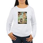 Venus-AussieShep#4 Women's Long Sleeve T-Shirt