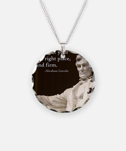 Lincoln - Stand Firm Necklace