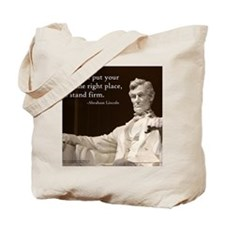 Lincoln - Stand Firm Tote Bag