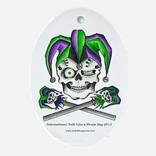 Slappy Roger Oval Ornament