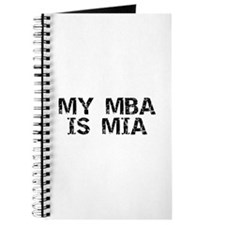 My MBA Is MIA Journal