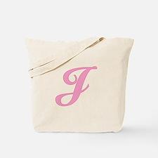 J Initial Tote Bag