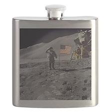 Apollo moon mission Flask