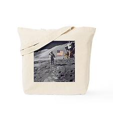 Apollo moon mission Tote Bag