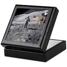 Apollo moon mission Keepsake Box