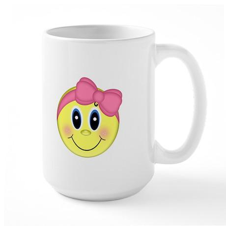 Smiley Face Large Mug