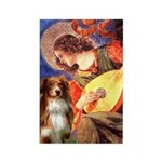 Angel3 - Aussie Shep #4 Rectangle Magnet (10 pack)