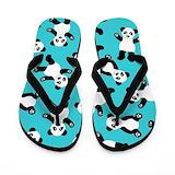 Pandas Flip Flops