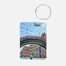 Venice Italy Journal Keychains