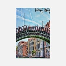 Venice Italy Journal Rectangle Magnet
