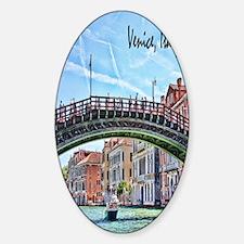 Venice Italy Journal Sticker (Oval)