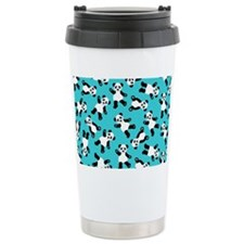 Cute Happy Panda Bear C Travel Coffee Mug