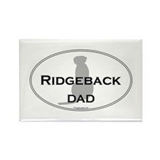 Ridgeback Dad Rectangle Magnet