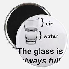 Glass Always Full Magnet