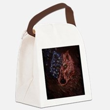 anericanwolfTL Canvas Lunch Bag