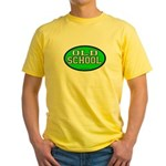 Old School Yellow T-Shirt