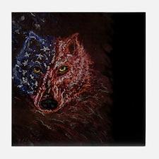 americanwolflptp Tile Coaster