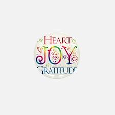 The Heart of Joy Mini Button