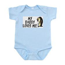 My daddy loves me (penguins) Infant Bodysuit