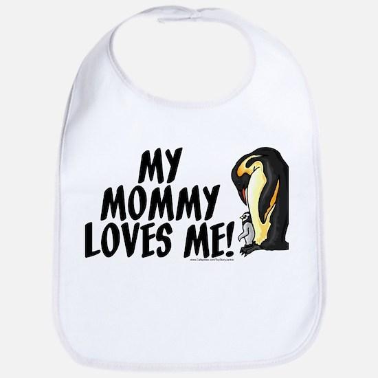 My Mommy Loves Me (Penguins) Bib