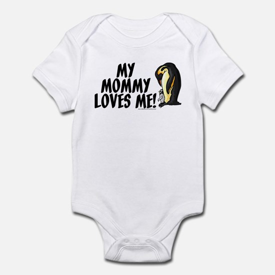My Mommy Loves Me (Penguins) Infant Bodysuit
